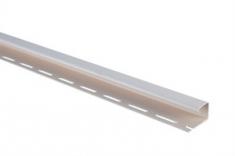 """Сайдинг Планка """"J - trim"""", 3000 мм, цвет Белый"""