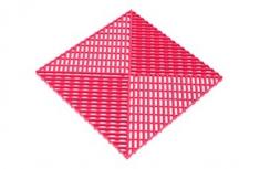 Решётка с дополнительным обрамлением, цвет Розовая