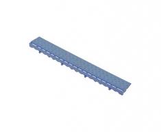 Боковой элемент обрамления с замками, цвет Синий